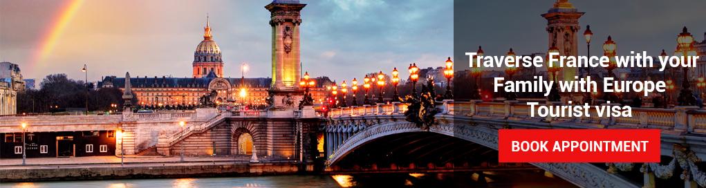 Online France Visa Appointment, France Visa, France Schengen